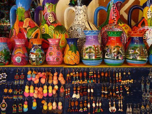 mercado el Parral en Puebla, Mexico