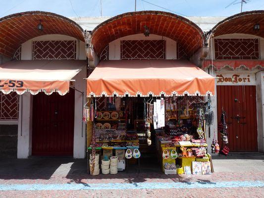 el Parral kiosk