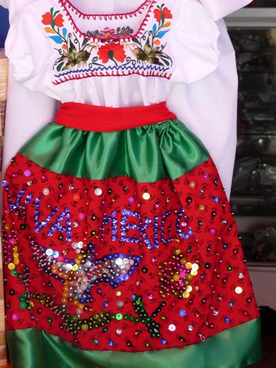 traditional dress el Parral Puebla