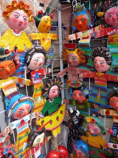 Mexican dolls, el Parral, Puebla, Mexico
