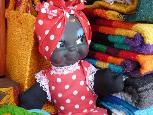 black doll, el Parral, Puebla