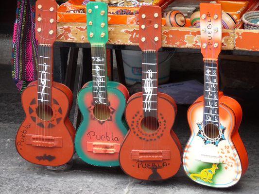 guitars, el Parral, Puebla