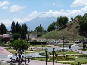 under the Great Pyramid of Cholula