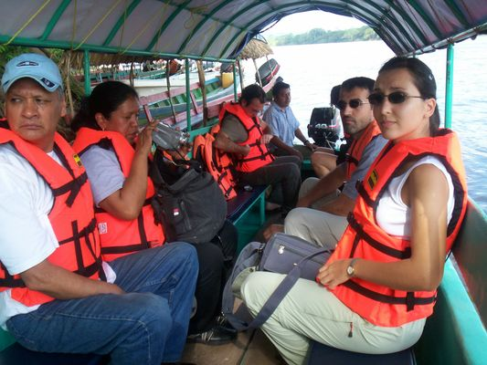 Yaxchilan adventure on the boat