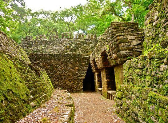 Yaxchilan labyrinth