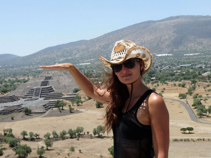 me in Teotihuacan Mexico