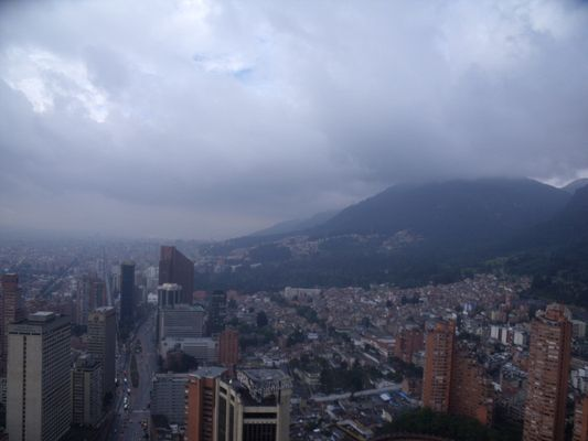 give a chance to Bogota - view from Colpatria
