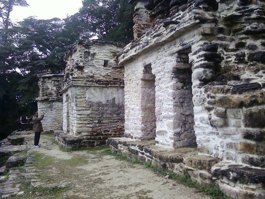Bonampak Temple of the Murals