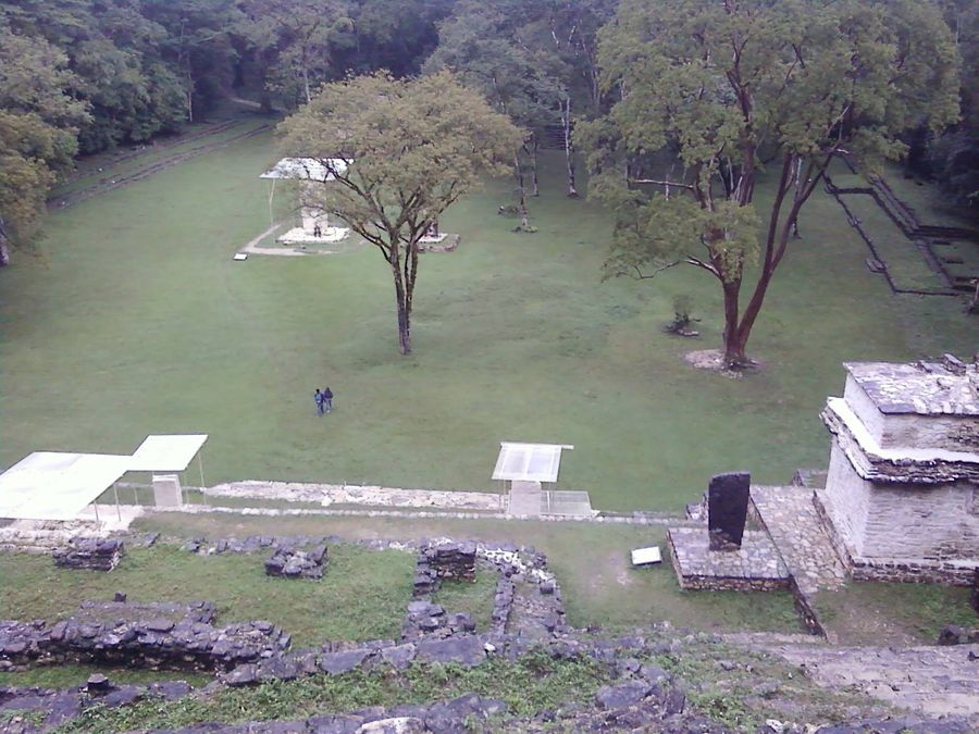 Bonampak the view from the top