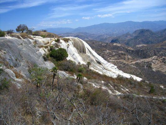 Hierve el Agua, Cascada Chica, Oaxaca