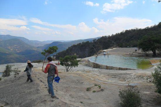 Hierve el Agua en Oaxaca