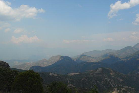 Hierve el Agua mountains