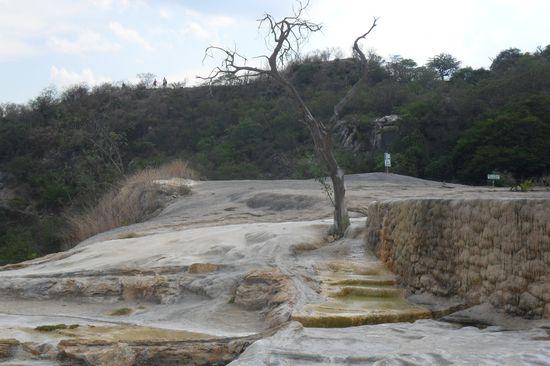 Hierve el Agua natural wonder