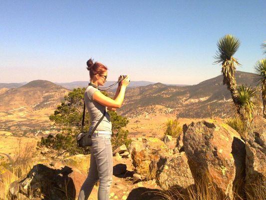 amazing landscape of San Jose Iturbide in centro vacacional El Salto