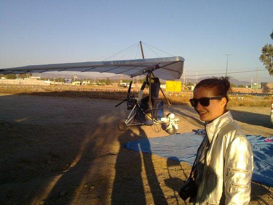 preparing for ultralight flight