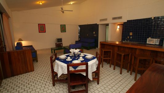 room of hotel Villas Paraiso