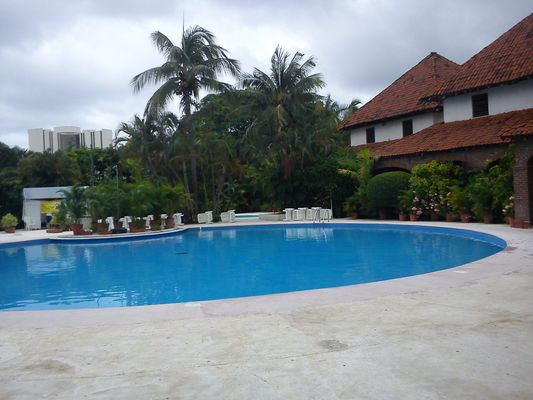 swimming pool of hotel Villas Paraiso