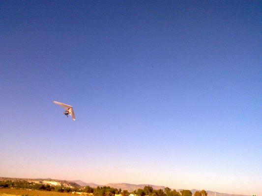 ultralight flight in San Jose Iturbide, Mexico