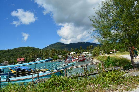 Baan Tai Pier on Koh Phangan