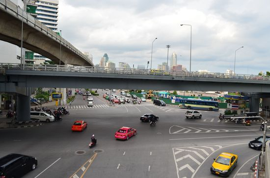 a Bangkok bridge