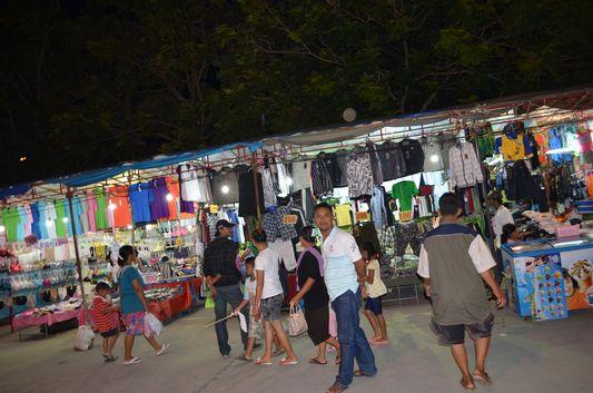 Lucky resort at Haad Gruad beach on Koh Phangan