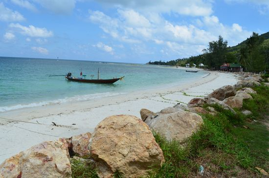 Chaloklum beach on Ko Phangan island