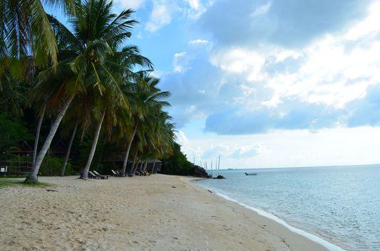 Chao Phao beach on Ko Phangan