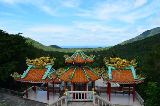 Chinese temple on Koh Phangan