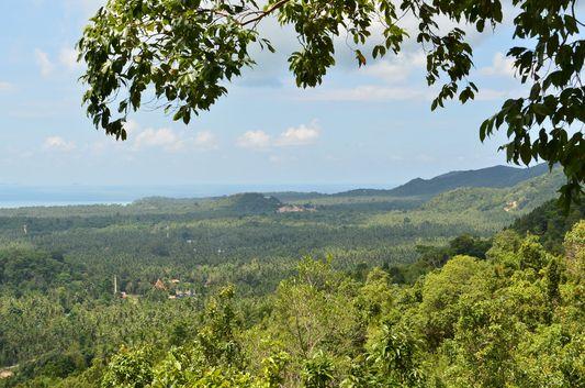Domesila viewpoint on Koh Phangan island