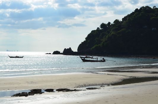 Kantiang Bay beach on Koh Lanta in Thailand