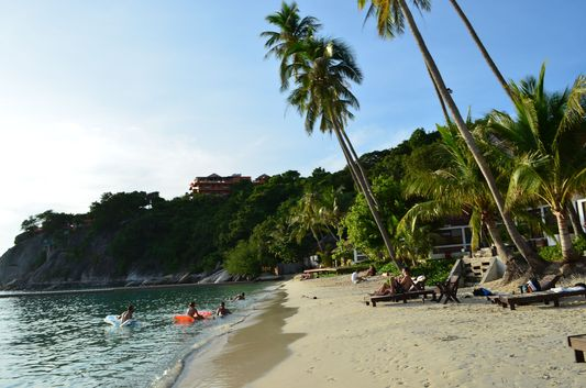 Leela beach on Ko Phangan