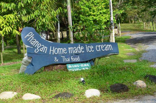 Phangan Home-made ice cream on Ko Phangan