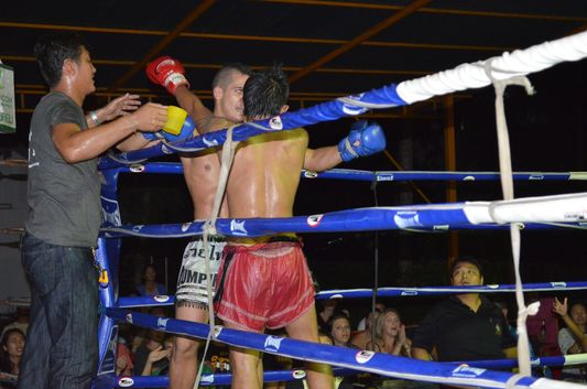 Thai boxing on Koh Phangan
