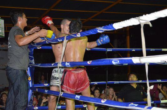 Thai boxing on Koh Phangan