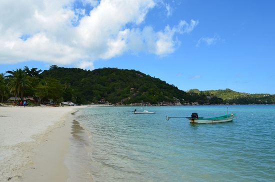 Thong Nai Pan Noi beach on Ko Phangan