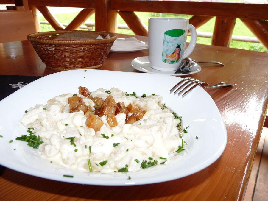 bryndzove halusky Slovakia Slovak cuisine