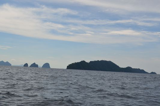 islands around Koh Lanta in Thailand