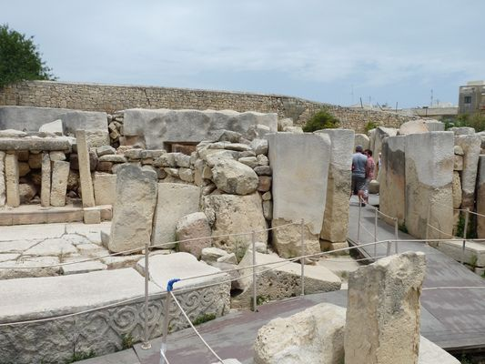 Tarxien temples in Malta
