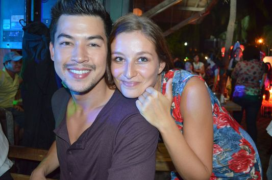 crazy sexy fun traveler with John Avila at Captain Morgan party in Manila