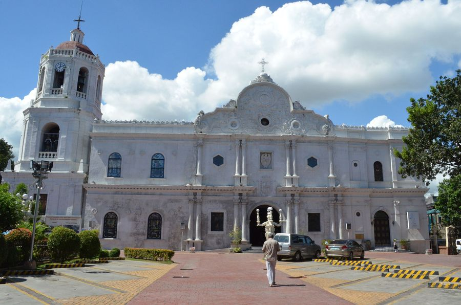 Cebu Cathedral and its museum with religious artifacts