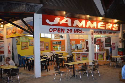 Jammers 24 restaurant on Boracay island