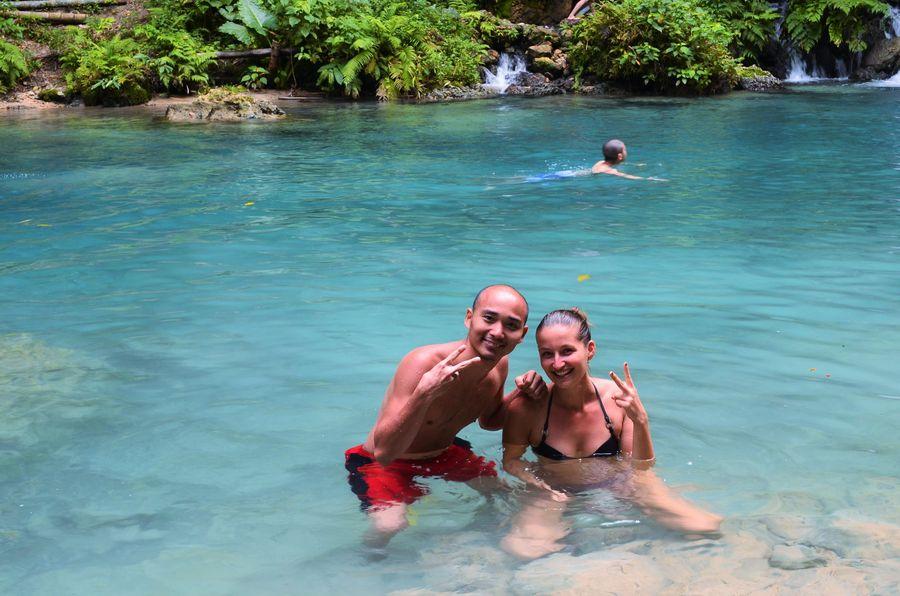 Kawasan waterfalls Cebu