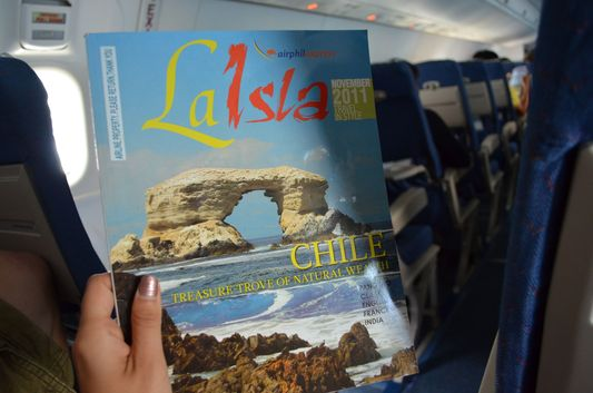 La Isla magazine on Air Phil Express flights