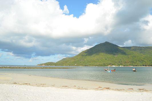 Malibu beach on Koh Phangan island in Thailand