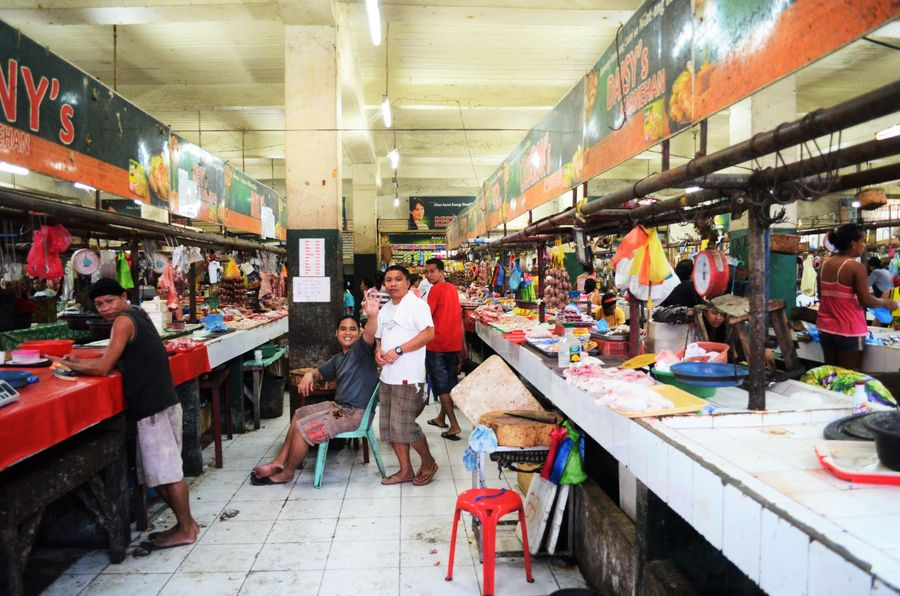 Minglanilla public market Cebu