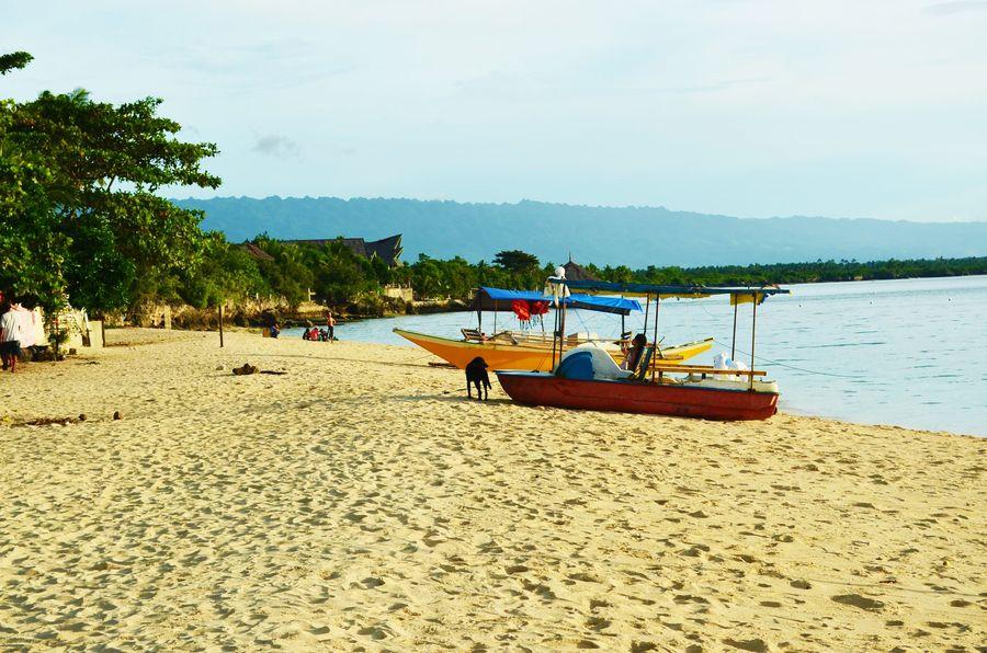 Moalboal town Cebu