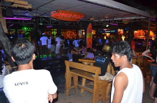 Summer Place disco on Boracay island