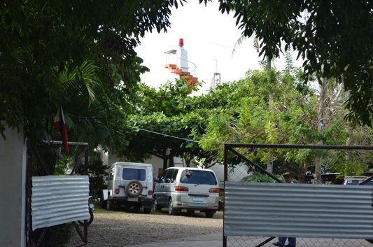 lighthouse in Puerto Princesa, Palawan