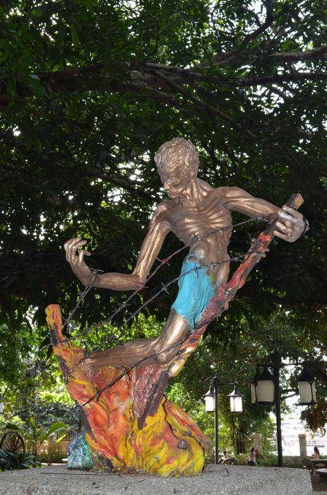 memorial of Plaza Cuartel in Puerto Princesa