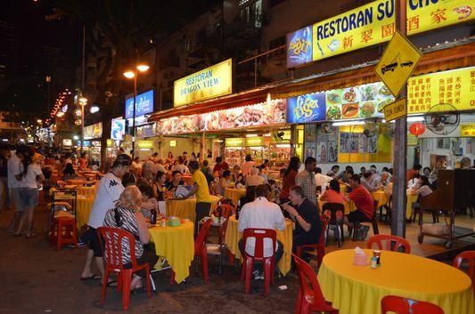 Bukit Bintang restaurants in Kuala Lumpur